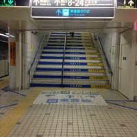 Photo taken at Subway Sapporo Station (N06/H07) by orange m. on 3/20/2013
