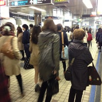 Photo taken at Subway Sapporo Station (N06/H07) by orange m. on 4/18/2013