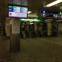 Photo taken at Subway Sapporo Station (N06/H07) by orange m. on 4/30/2013