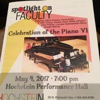 Photo taken at Hochstein School of Music & Dance by Thomas M. on 5/4/2017
