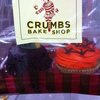 Photo taken at Crumbs Bake Shop by Korin W. on 10/28/2012