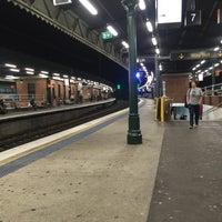 Photo taken at Strathfield Station (Platforms 7 & 8) by Nasir A. on 10/27/2016