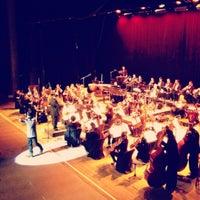 Photo taken at Teatro Popular Melico Salazar by Diego C. on 11/23/2012