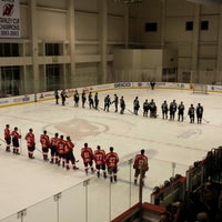 Photo taken at Barnabas Health Hockey House by Jeremy B. on 2/22/2014