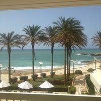 Photo taken at Mövenpick Hotel Beirut by Dmitri K. on 4/6/2013