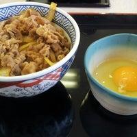 Photo taken at Yoshinoya by Kazui on 1/2/2013
