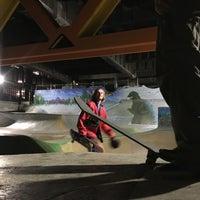 Photo taken at Burnside Skate Park by H. C. on 3/1/2017