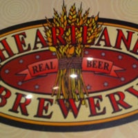 Photo taken at Heartland Brewery by Venetia K. on 12/8/2012