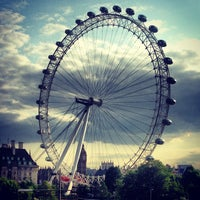 Photo taken at The London Eye by Aniya on 6/25/2013