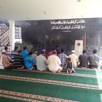 Photo taken at Masjid Al Muqsith by A Lukman H. on 8/11/2013