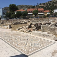 Photo taken at Archaeological Museum Pythagorion Samos by Feyza A. on 8/23/2017