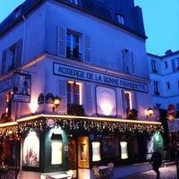 Photo taken at Place du Tertre by Christophe D. on 1/26/2013