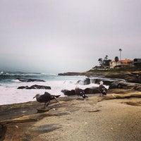 Foto tirada no(a) La Jolla Beach por Khalid A. em 12/25/2012