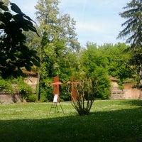 Photo taken at Palazzo Schifanoia by Claudia on 4/25/2014