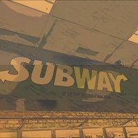 Photo taken at CBA Subway by Soud Aloun on 11/7/2013