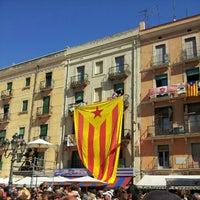Photo taken at Plaça de la Font by Marc M. on 9/16/2012