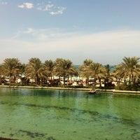 Photo taken at Madinat Jumeirah Private Beach by Thiago R. on 10/30/2012