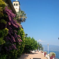 Photo taken at Gardone Riviera Port by Дмитрий N. on 8/18/2013