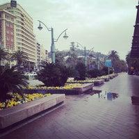 Photo taken at Plaza de la Marina by Зарина К. on 3/9/2013