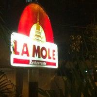 Photo taken at La Mole by Alcina V. on 1/14/2013