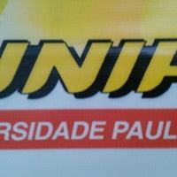 Photo taken at Universidade Paulista (UNIP) by Alexandre Junqueira C. on 7/24/2013