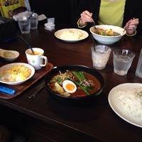 Photo taken at 国道12号線スープカレー本舗 by ひろ on 3/16/2014