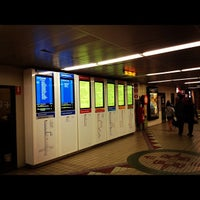 Photo taken at Town Hall Station (Main Concourse) by Marco T. on 10/13/2012