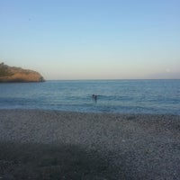 Photo taken at Limnionas Beach by Dimitrios T. on 8/21/2013
