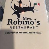 Photo taken at Mrs. Robino's Restaurant by Megan D. on 6/26/2018