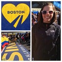 Photo taken at Marathon Monday 2012 by Zachary B. on 4/21/2014