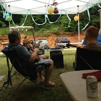 Photo taken at Wayside Bluegrass Festival by Bitty C. on 7/13/2013