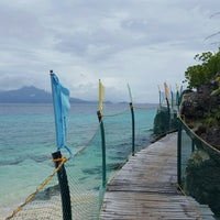 Photo taken at Sambawan Dive Camp and Beach Resort by iAn w. on 2/27/2016
