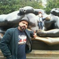 Photo taken at Plaza Botero by Tuyo I. on 11/2/2012