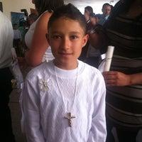 Photo taken at Liceo Salazar y Herrera by Daniel S. on 8/17/2013