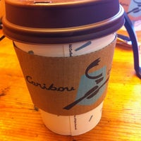 Photo taken at Caribou Coffee by Aleks L. on 3/20/2013