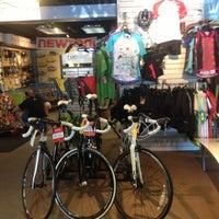 Photo taken at Bob's Bicycle Shop by Jesse H. on 4/16/2013
