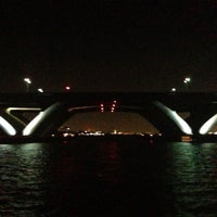 Photo taken at Woodrow Wilson Bridge Pedestrian Trail by Janee M. on 9/8/2013