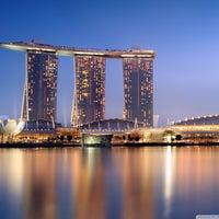 Photo taken at Marina Bay Sands Hotel by Khatz B. on 5/26/2013