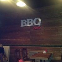 Photo taken at BBQ Cafe by Ksenia V. on 2/21/2013