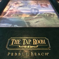Photo taken at The Tap Room at Pebble Beach by MiniME on 4/12/2017