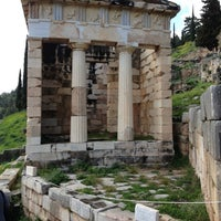 Photo taken at Archaeological Site of Delphi by George M. on 3/9/2013