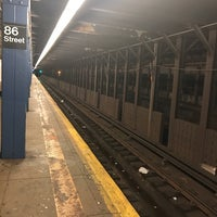 Photo taken at MTA Subway - 86th St (B/C) by Devonta on 1/25/2017