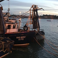 Photo taken at Skerries Harbour by Kaiser M. on 11/20/2016