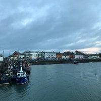 Photo taken at Skerries Harbour by Kaiser M. on 1/15/2017