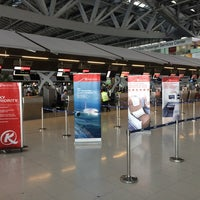 """Photo taken at Check-In Row """"W"""" by Charles R. on 9/4/2014"""