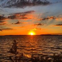 Photo taken at Lighthouse Point by Matt E. on 8/4/2015