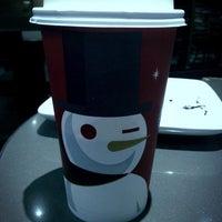 Photo taken at Starbucks by Juan Cristobal B. on 1/11/2013