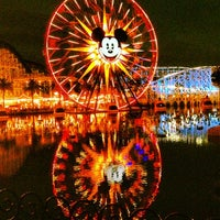 Photo taken at Mickey's Fun Wheel by Casi G. on 3/20/2013