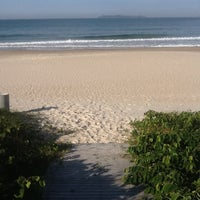 Photo taken at Praia do Mariscal by Maria Leticia A. on 7/19/2013