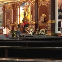 Photo taken at St. Francis of Assisi Parish Church by Yna M. on 12/19/2012